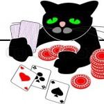 Kat der spille kort